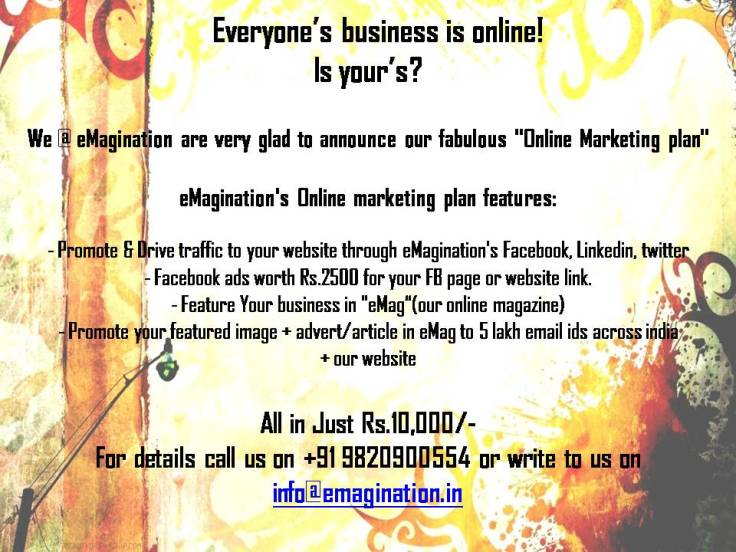 Online marketing offer